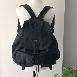 SATCHI Genuine Leather Backpack
